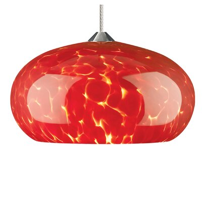 Tech Lighting Meteor Frit 1 Light Monorail Pendant