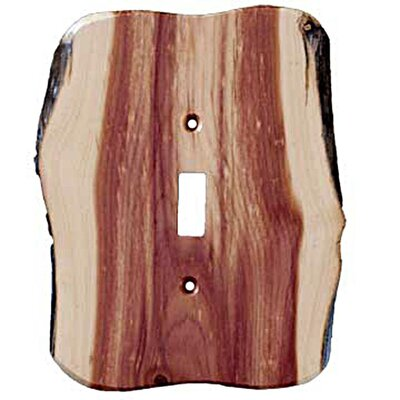 Rustic 1 Toggle Switch Plate