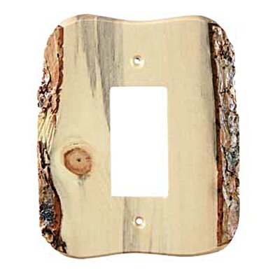 Rustic 1 Decora Switch Plate