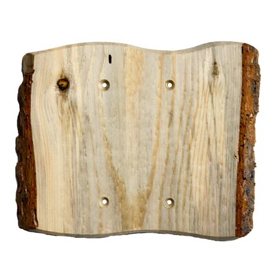 Rustic 2 Blank Switch Plate