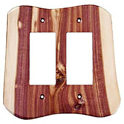 Rustic 2 Decora Switch Plate