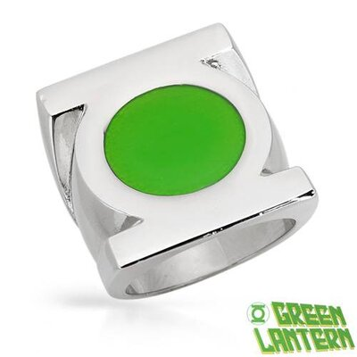 Green Lantern Stainless Steel Ring