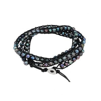 Beaded Cultured Pearl Beaded Bracelet