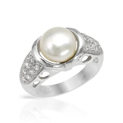 Lauren G. Adams Sterling Silver Cubic Zirconia Ring