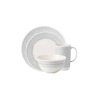 Simplicity Cream 4 Piece Place Setting