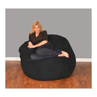 Wildon Home ® Wildon Home Bean Bag Chair and Ottoman