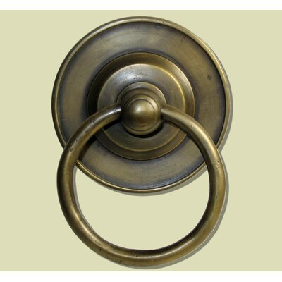 Round Tiered Backplate Ring Pull