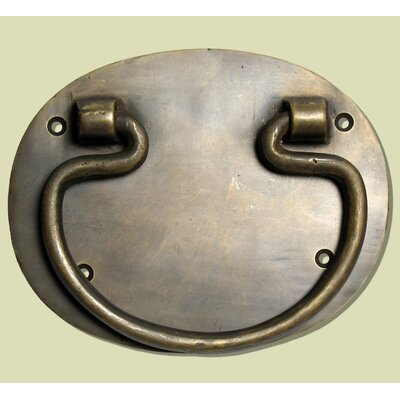 Plain Oval Back Plate Bail Pull