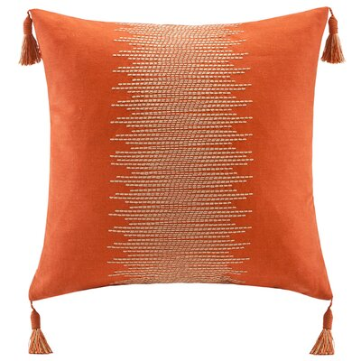 echo design Beacon's Paisley Cotton Faux Linen Pillow