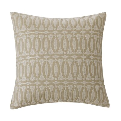 echo design Abstract Palm 16&quot; Square Pillow in Linen