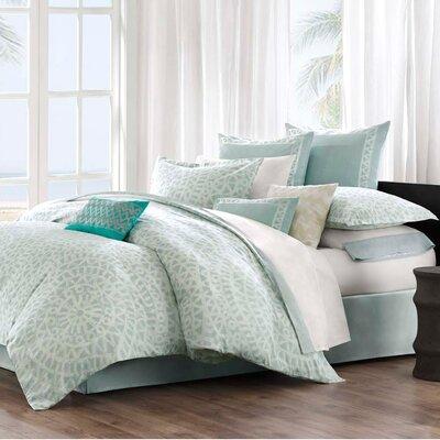 echo design Mykonos Cotton Linen Square Pillow