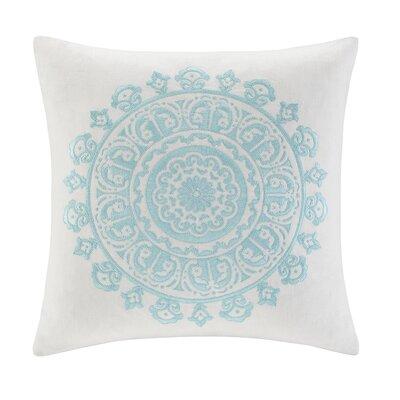 Paros Cotton Faux Linen Square Pillow