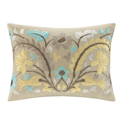 echo design Paros Cotton Faux Linen Oblong Pillow