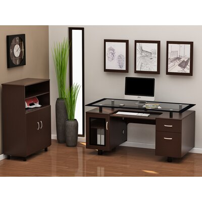 Z-Line Designs Ayden Standard Desk Office Suite