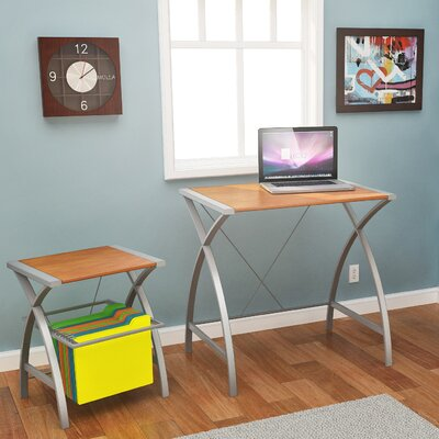 Delson Computer Desk with Small File Desk