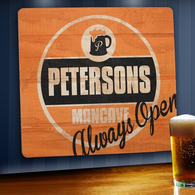 Personalized Gift Wood Tavern and Bar Sign