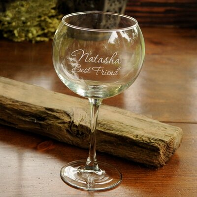 Personalized Gift Connoisseur Wine Glass