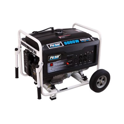 Pulsar Products Gas Peak 6,000 Watt Generator