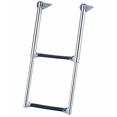 Garelick MFG. Company Over Platform Telescoping 2-Step Drop Ladder