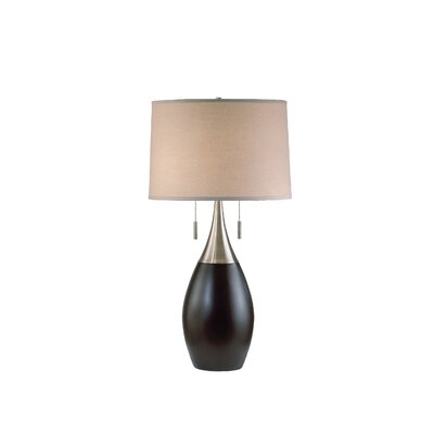 """Nova Pure 30"""" H Table Lamp with Drum Shade"""