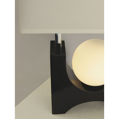 "Nova Golden Gate 22"" H Table Lamp with Rectangle Shade"