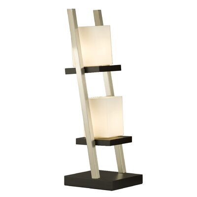 Escalier Table Lamp in Dark Brown