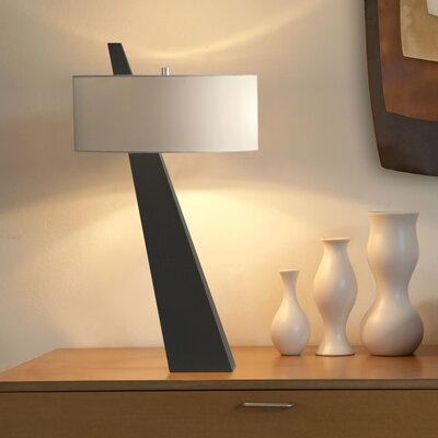 "Nova Obelisk 31"" H Table Lamp with Drum Shade"