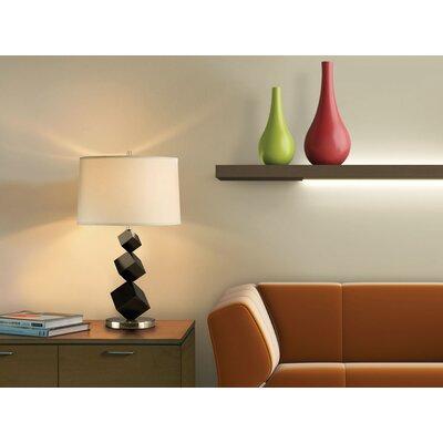 "Nova Cubes Standing 27"" H Table Lamp Drum Shade"