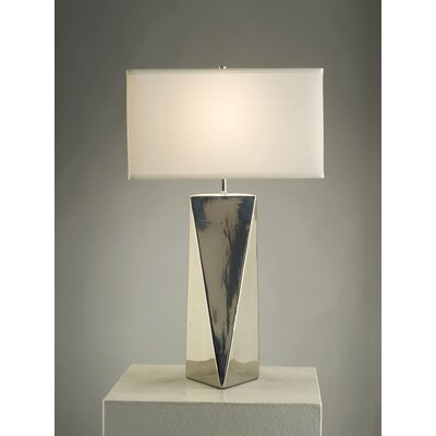 "Nova Prism 28"" H Table Lamp with Oval Shade"