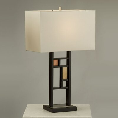 Nova Colored Windows Table Lamp