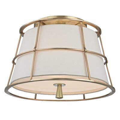 Savona 2 Light Semi Flush Mount