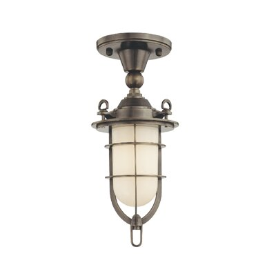 Hudson Valley Lighting New Canaan 1 Light Semi Flush Mount
