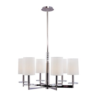 Hudson Valley Lighting Chelsea 6 Light Chandelier