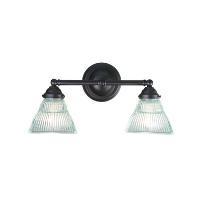 Hudson Valley Lighting Majestic Square 2 Light Bath Vanity Light