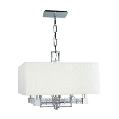 Hudson Valley Lighting Alpine  4 Light Drum Pendant