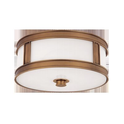 Hudson Valley Lighting Patterson 3 Light Flush Mount