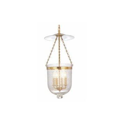 Hudson Valley Lighting Williamsburg Hampton 4 Light Foyer Pendant