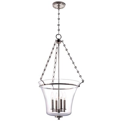 Hudson Valley Lighting Eaton 4 Light Foyer Pendant
