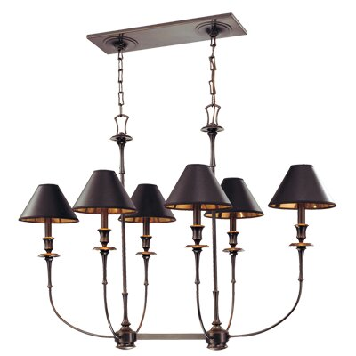 Jasper 6 Light Island Chandelier
