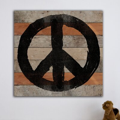 Jen Lee Art All Peace Graphic Art Plaque