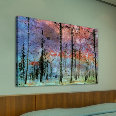 Jen Lee Art Lost in the Forest Graphic Art on Canvas