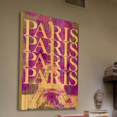 Jen Lee Art Paris Paris Bamboo Art