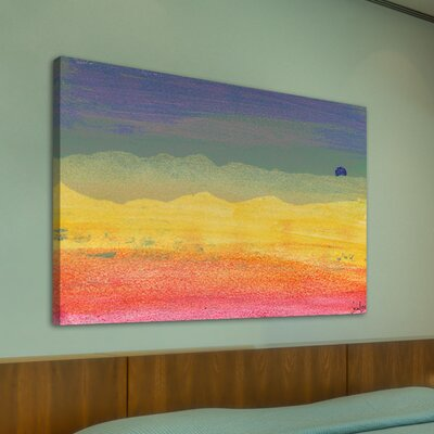 Jen Lee Art Desert Sun Graphic Art on Canvas