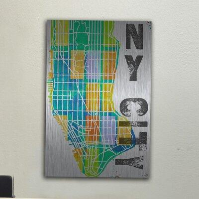 Jen Lee Art NY City Aluminum Art