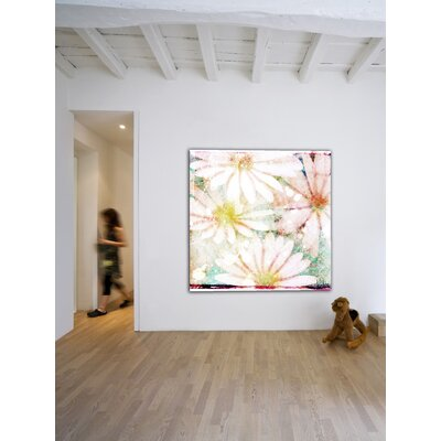 Jen Lee Art Daisies Canvas Art