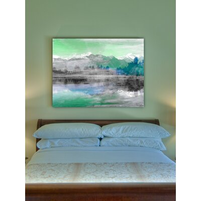 Jen Lee Art Mountain High Canvas Art