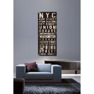 Jen Lee Art Union Square Canvas Art