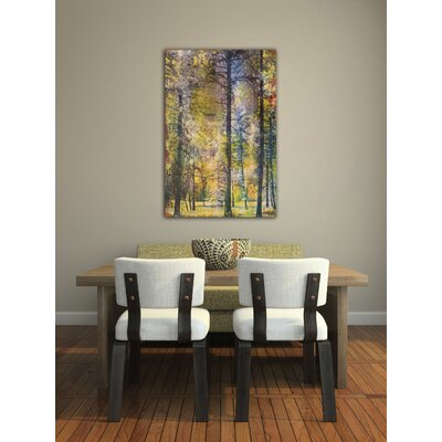 Jen Lee Art Walk in the Woods Canvas Art