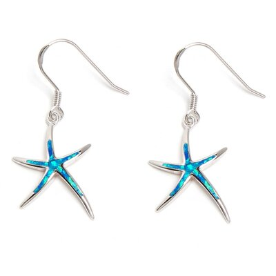 Opal Fancy Starfish Drop Earring