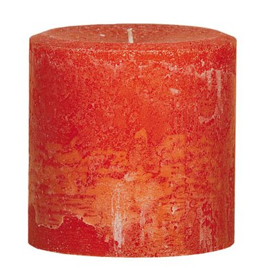 Oddity Inc. Weathered Pumpkin Pillar Candle